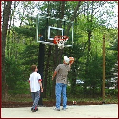 Basketball Barrier Netting - Sports Nets | HeartlandNets.com