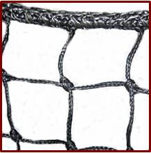 Barrier Netting - Overlock Stitched Rope Border | HeartlandNets.com